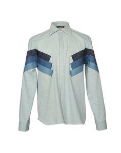 Джинсовая рубашка Neil Barrett