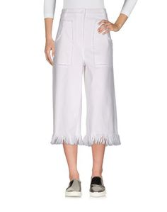 Джинсовые брюки-капри Love Moschino