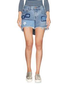 Джинсовая юбка ONE X Oneteaspoon