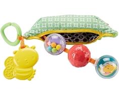 Плюшевая игрушка-погремушка Fisher Price «Горошек»