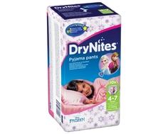 Трусики Huggies DryNites для девочек 4-7 лет (17-30 кг) 10 шт.