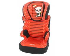 Автокресло Nania «Befix SP Animals» 18-36 кг panda red