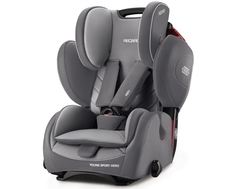 Автокресло Recaro «Young Sport Hero» 9-36 кг Aluminum Grey