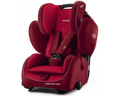Автокресло Recaro «Young Sport Hero» 9-36 кг Indy Red
