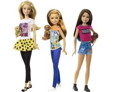 Кукла Barbie «Сестры Barbie с питомцами» в ассортименте