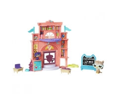 Игровой набор Littlest Pet Shop «Школа»/«Аквапарк», в ассортименте