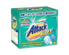 Стиральный порошок Attack BioEX концентрат универсальный 1 кг