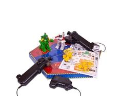 Игровой набор р/у ABtoys «Сражение роботов»