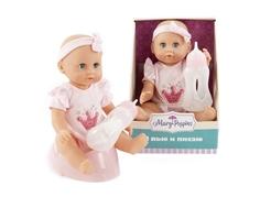 Кукла Mary Poppins «Я пью и писаю» Минни в розовом 25 см