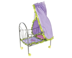 Кровать для куклы Mary Poppins «Бабочки» с балдахином металлическая