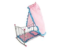 Кровать-качалка для куклы Mary Poppins «Зайка» с балдахином