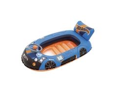 Лодочка надувная Bestway «Hot Wheels» 112х71 см