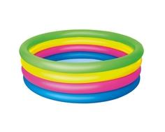Бассейн надувной Bestway «Разноцветный» круглый 157х46 см 522 л