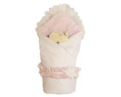Одеяло на выписку для девочки Арго «Prima», розовое Argo