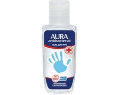 Гель для рук AURA антибактериальный с экстрактом Алоэ 50 мл