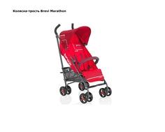 Коляска прогулочная Brevi Marathon красная