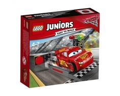 Конструктор LEGO Juniors 10730 «Устройство для запуска Молнии МакКуина»