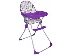 Стульчик для кормления Selby 152 «Яркий луг» фиолетовый