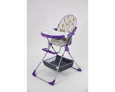 Стульчик для кормления Selby 252 «Совы» фиолетовый