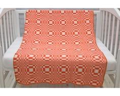 Одеяло Споки Ноки байковое «Клетка» 100х140 см, в ассортименте
