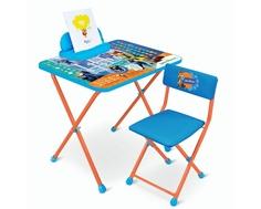 Комплект мебели Ника «Зверополис» с пеналом Nika
