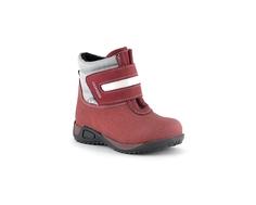 Ботинки ясельные для девочки Детский Скороход, бордовые