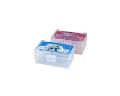 Контейнер для мелочей Полимербыт «Kids Box» с вкладышем 0,8 л в ассортименте