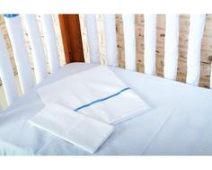 Комплект постельного белья Cloud factory 3 пр. сатин Simple Love Blue