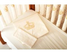 Комплект постельного белья Cloud factory 3 пр. сатин Royal Baby