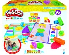 Игровой набор Play-Doh «Текстура и инструменты»