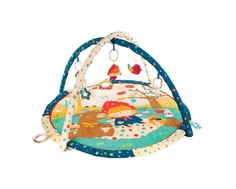 Развивающий коврик Жирафики «Машенька и медведь» с 8-ю развивающими игрушками