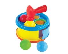 Развивающая игрушка-сортер Жирафики «Бей в барабан»