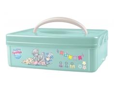 Ящик для игрушек Me to you с ручкой зеленый 2 л