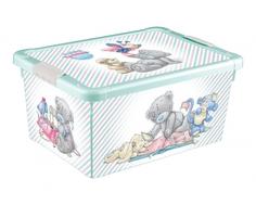Ящик для игрушек Me to you зеленый 8,4 л