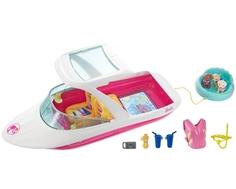 Моторная лодка Barbie с аксессуарами