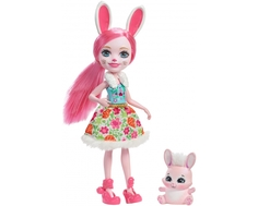 Кукла Enchantimals с любимой зверюшкой в ассортименте