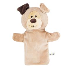 Кукла на руку Жирафики «Желтый щенок» 25 см