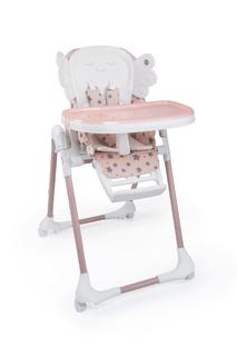 Стульчик для кормления Happy Baby «Wingy» розовый