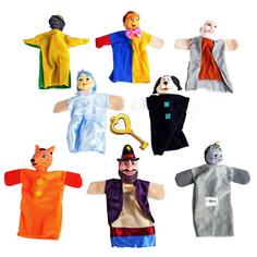 Кукольный театр Жирафики «Буратино» 8 кукол