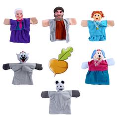 Кукольный театр Жирафики «Репка» 6 кукол
