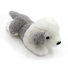 Мягкая игрушка Button Blue «Щенок бело-серый» 23 см