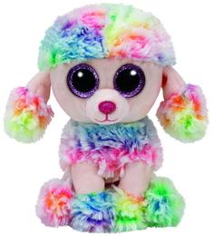Мягкая игрушка TY Beanie Boos Пудель «Rainbow» 15 см