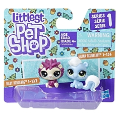 Фигурка Littlest Pet Shop «Два пета» в ассортименте