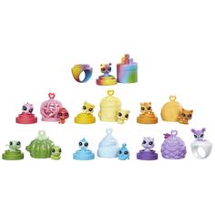 Игровой набор Littlest Pet Shop «13 радужных петов»