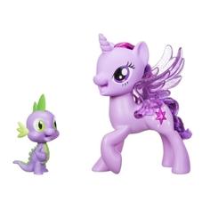 Интерактивная игруша My Little Pony «Поющая Твайлайт Спаркл и Спайк»