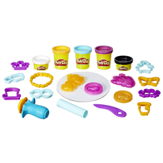 Игровой набор Play-Doh «Лепи и делай прически»