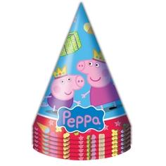 Набор колпачков Peppa Pig «Пеппа Принцесса» 6 шт.