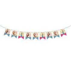 Гирлянда-флажки Маша и Медведь «Машины сказки» 3,2 м