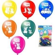 Набор воздушных шаров Peppa Pig 10 шт. в асс.