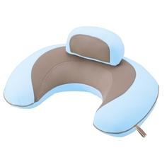 Подушка поддерживающая Ailebebe (Carmate) «3way Cushion Macaron» голубая